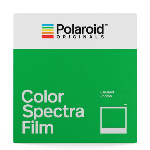 Polaroid Color Film for Spectra/Image Cameras (8 Exposures)