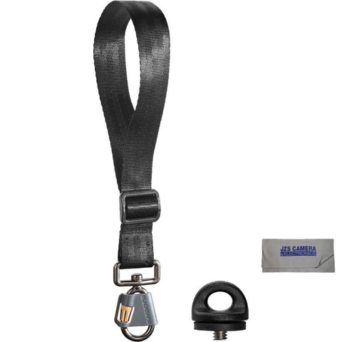 BlackRapid Wrist Strap Breathe & JZS CC-20 Microfiber Lens Cloth (with FastenR)