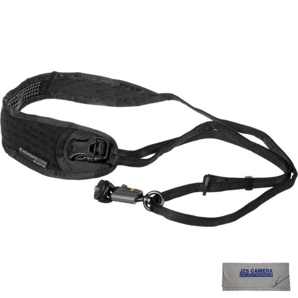 BlackRapid Street Breathe Camera Strap with JZS CC-20 Microfiber Lens Cloth [Two Color Options]