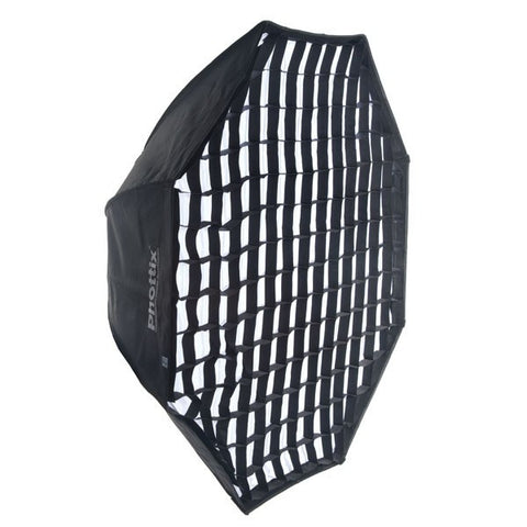 Phottix 2-in-1 Strip Softbox with Grid 14x56""