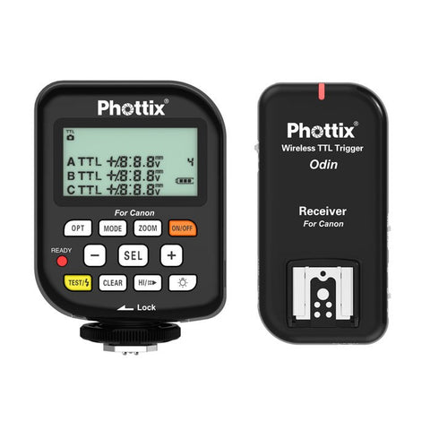 Phottix Odin TTL Flash Trigger Set v1.5 for Canon