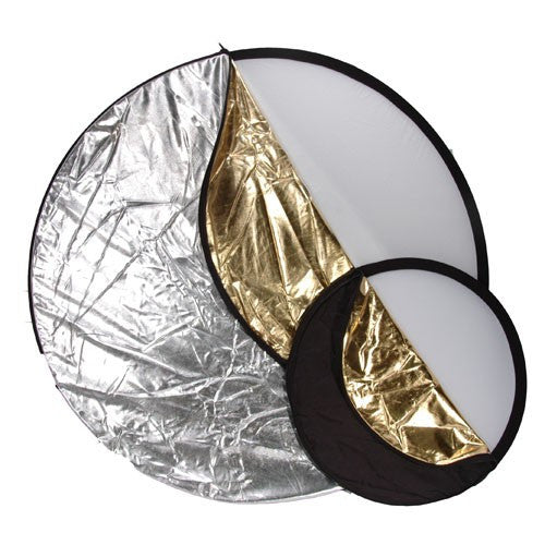 Phottix 5-in-1 Light Multi Collapsible Reflector [Multiple Size Options]