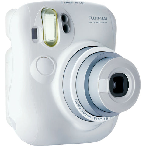 Fujifilm Instax Mini 25 Camera (White)