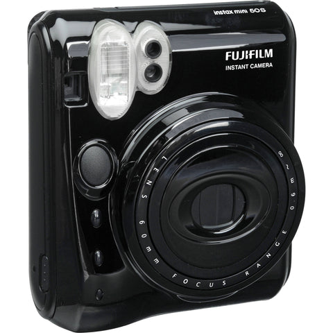 Fujifilm Instax Mini 50S Instant Print Camera (Piano Black)