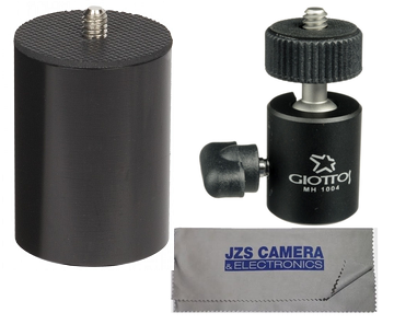 Studio Assets ProPole Painter's Pole Adapter with Giottos Mini Ball Head and Microfiber Cloth