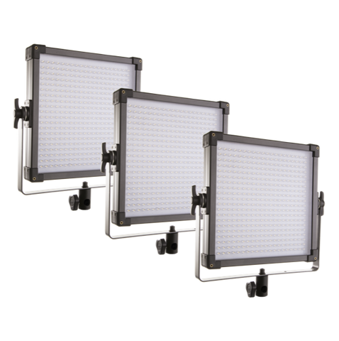 F&V K4000 Daylight V-Mount LED Studio Panel | 3-Light Kit