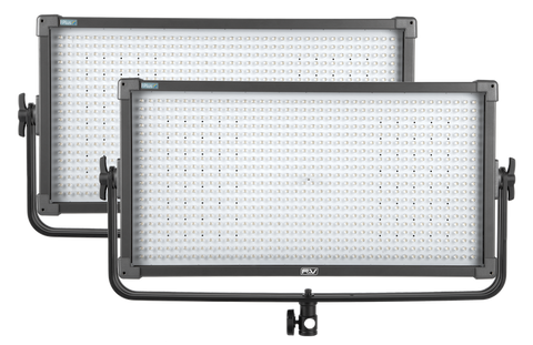 F&V K8000 Plus Bi-Color V-Mount LED Studio Panel | 2-light Kit