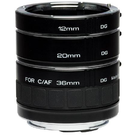 Kenko Extension Tube Set DG for Canon EF/EFS (12MM, 20MM, 36MM)