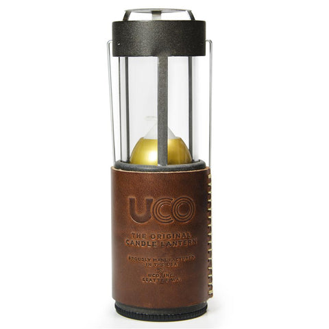 UCO Special Edition Original Candle Lantern, Leather Wrap (16 piece pricing only)