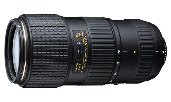 Tokina 70-200mm F4 FX Pro VCM-S Lens for Nikon
