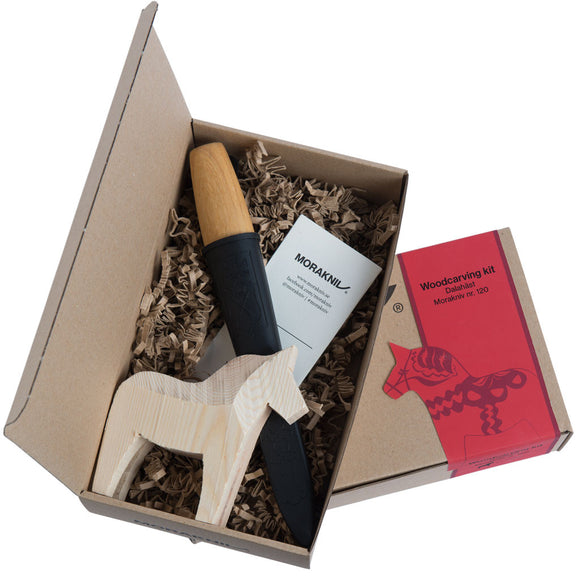 MoraKniv Carving Knife Kit with Dala Horse