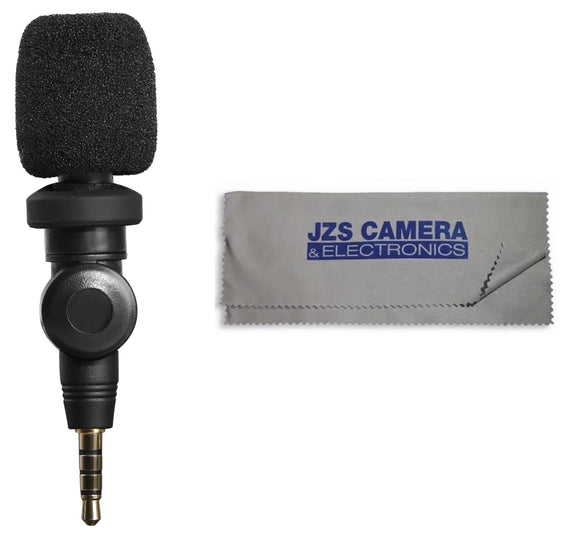 Saramonic SmartMic Condenser Microphone for iPhone, iPad, iPod Touch & Mac with Microfiber Cloth