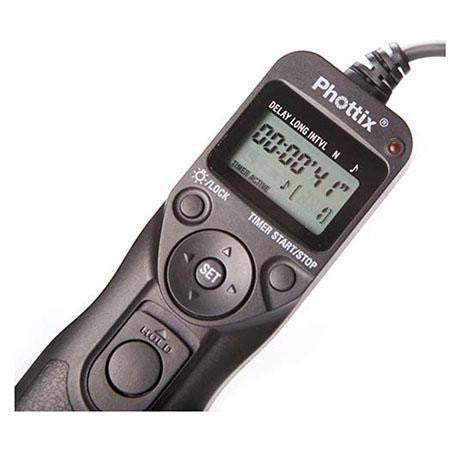 Phottix Multi-Function Remote with Digital Timer TR-90 - C8 for Canon
