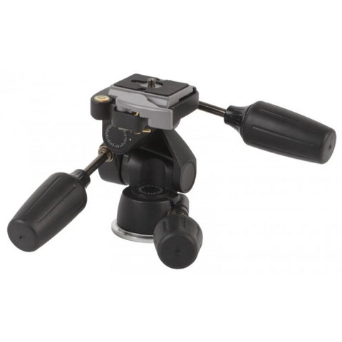 Studio Assets Magnesium 3-Way Low-Profile Pan/Tilt Head