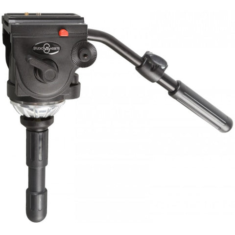 Studio Assets Pro Video Fluid Head with 75mm Half Ball