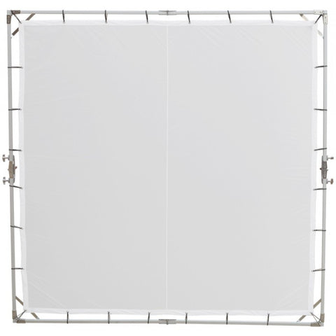 Studio Assets 8 x 8' Butterfly Frame with Translucent Fabric