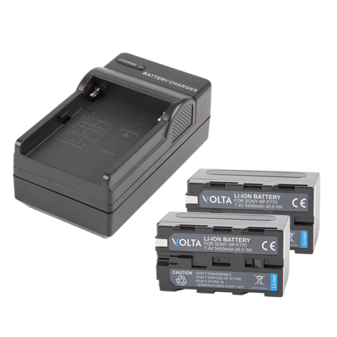 Volta NP-F770 Li-ion Battery and Charger Kit