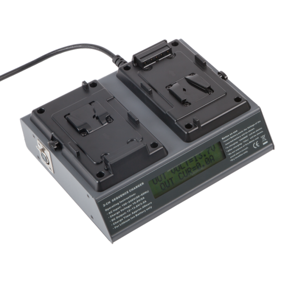Volta Dual V-Mount Battery Charger