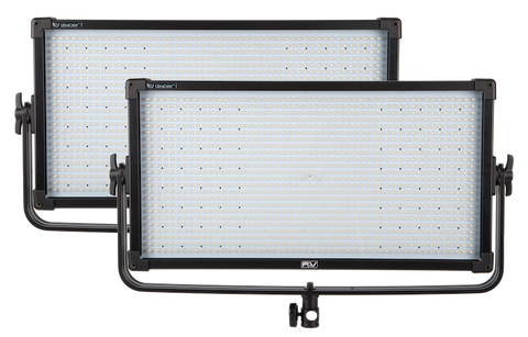 F&V Z1200 UltraColor Bi-Color V-Mount LED Studio Panel | 2-light Kit