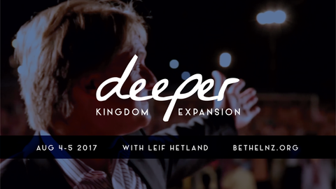 Session 6 - Dr Leif Hetland  (Sunday morning at Bethel Church NZ.)