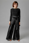 Wide Leg Bow Pants