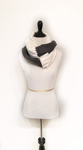 Heather Snow Scarf