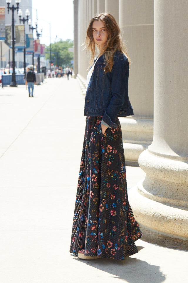 Zoey Floral Skirt