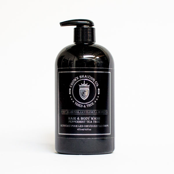 Peppermint Tea Tree Hair & Body Wash