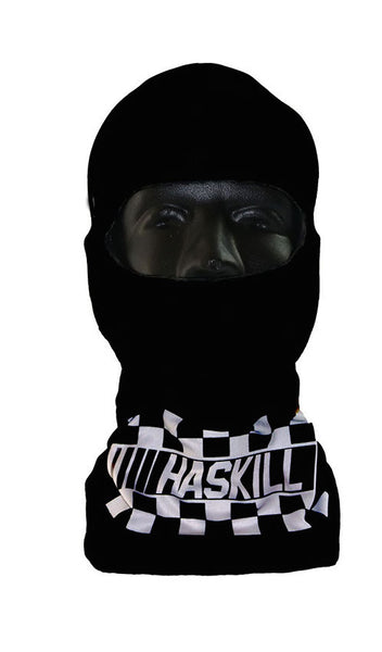 Racing Slick Black - Face Mask