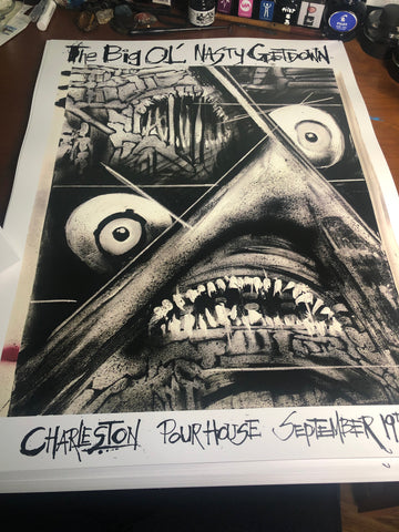 Big Ol' Nasty Getdown X Joey Feldman  - Charleston Gig Print