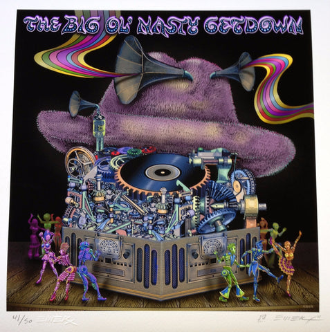 "Emek - ""The BIg Ol' Nasty Getdown Volume 1"" Back Cover Print"