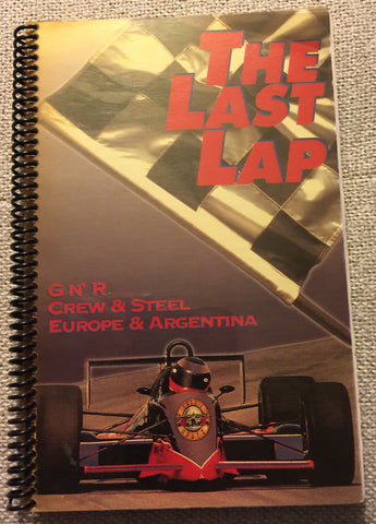 "Guns N' Roses - ""The Last Lap Europe and Argentina"" Tour Itinerary Booklet"