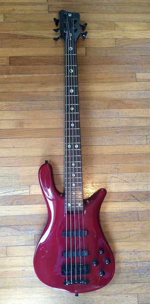 Traa Daniels (P.O.D.) Stage & Studio used 2001 Warwick Streamer Stage II 5-String Bass.