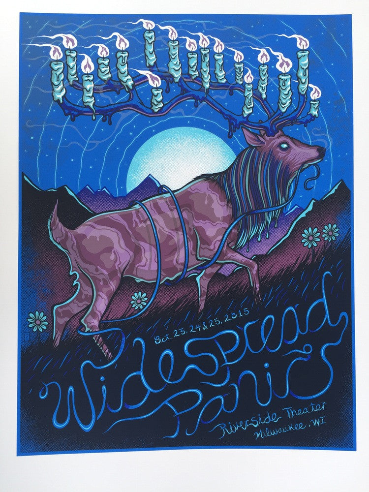 Widespread Panic - Riverside Theater - Oct. 23rd, 2015 - Regular Edition by Jim Mazza