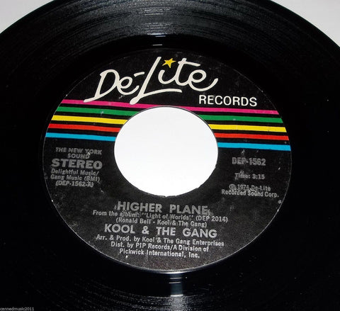 Kool and the Gang - Higher Plane / Wild is Love  7'' Single (original pressings)