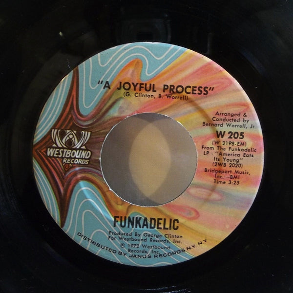 Funkadelic - Loose Booty/A Joyful Process  7'' Single (new original pressings)