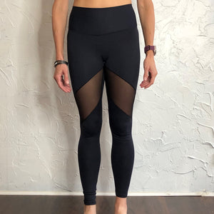 Mesh Mid-Rise Super Light Legging