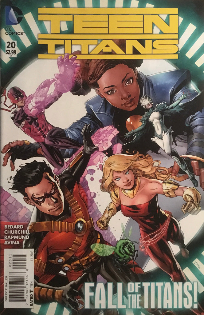 TEEN TITANS (NEW 52 SERIES 2) #20