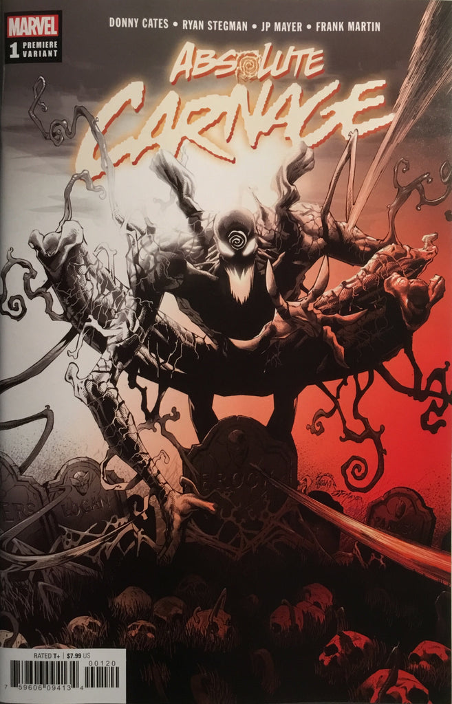 ABSOLUTE CARNAGE # 1 STEGMAN PREMIERE VARIANT COVER