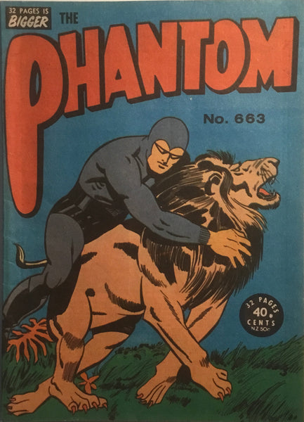 THE PHANTOM # 663