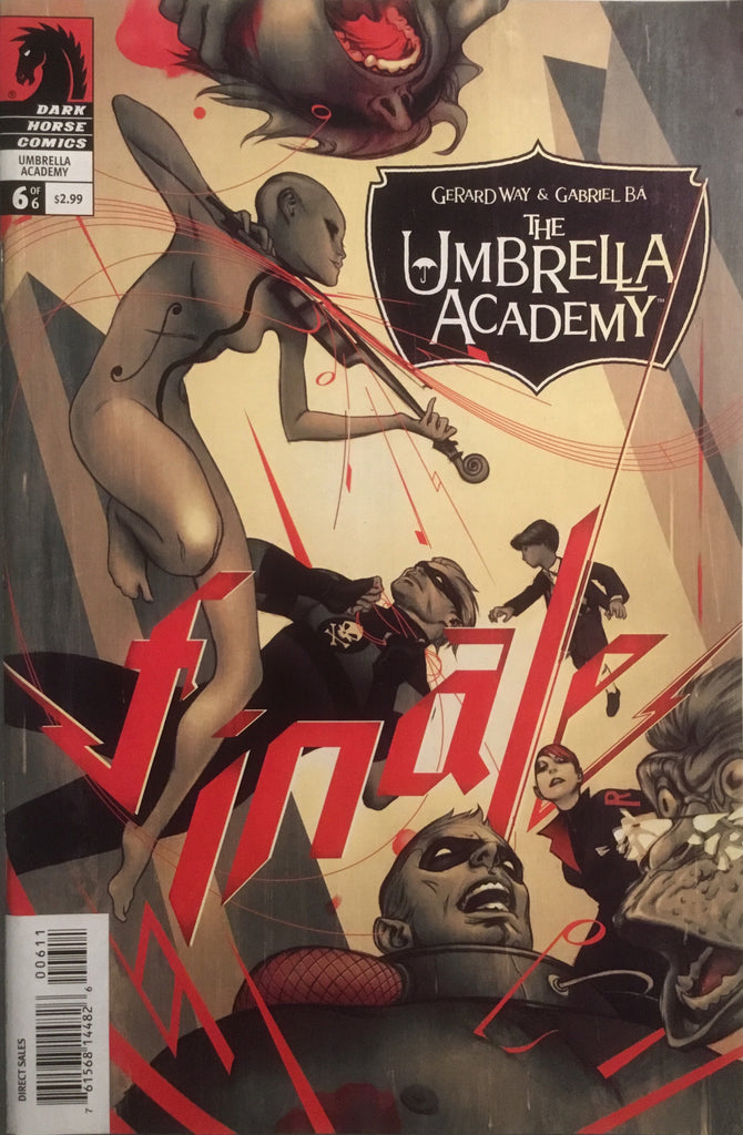 THE UMBRELLA ACADEMY SERIES 1 APOCALYPSE SUITE  # 6