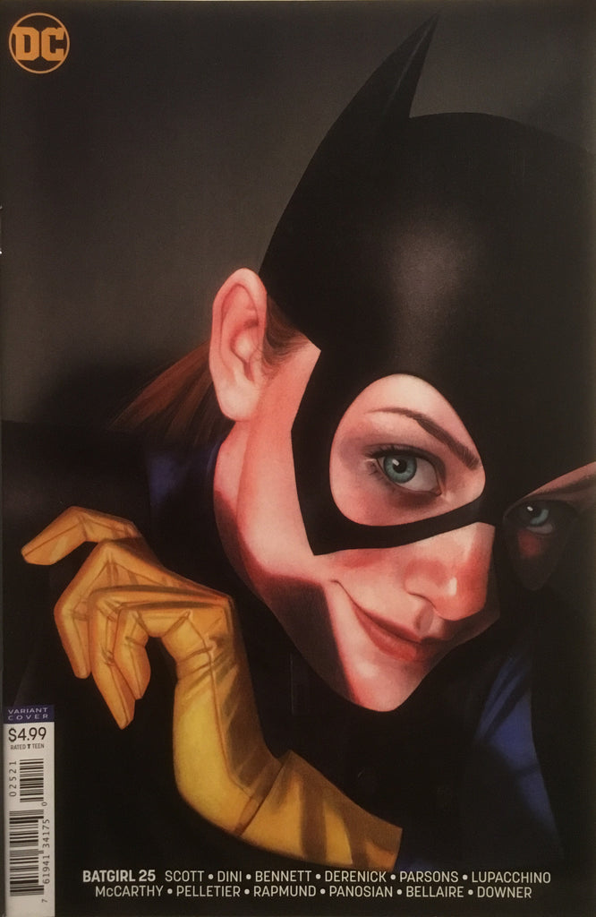 BATGIRL (REBIRTH) # 25 MIDDLETON VARIANT COVER
