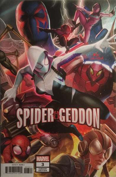 SPIDER-GEDDON # 0-5 IN-HYUK LEE CONNECTING VARIANT COVERS