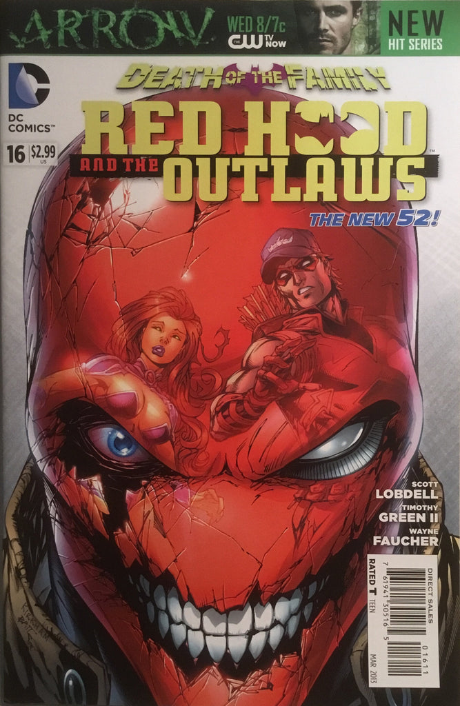 RED HOOD AND THE OUTLAWS (THE NEW 52) # 16