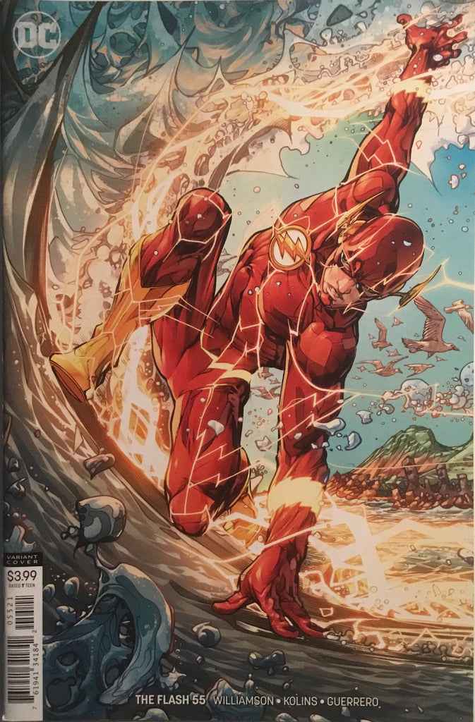 FLASH (REBIRTH) # 55 VARIANT COVER