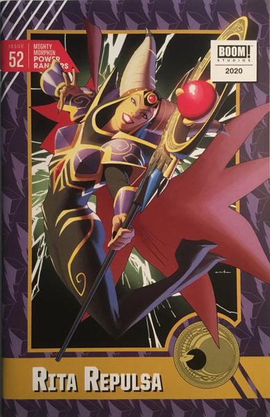 MIGHTY MORPHIN POWER RANGERS # 52 ANKA 1:10 VARIANT COVER