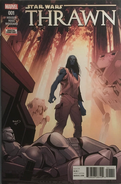 STAR WARS THRAWN # 1 ORIGIN AND FIRST MARVEL APPEARANCE