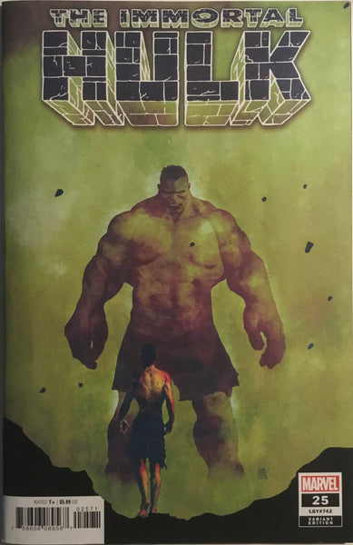 IMMORTAL HULK #25 SORRENTINO 1:25 VARIANT COVER