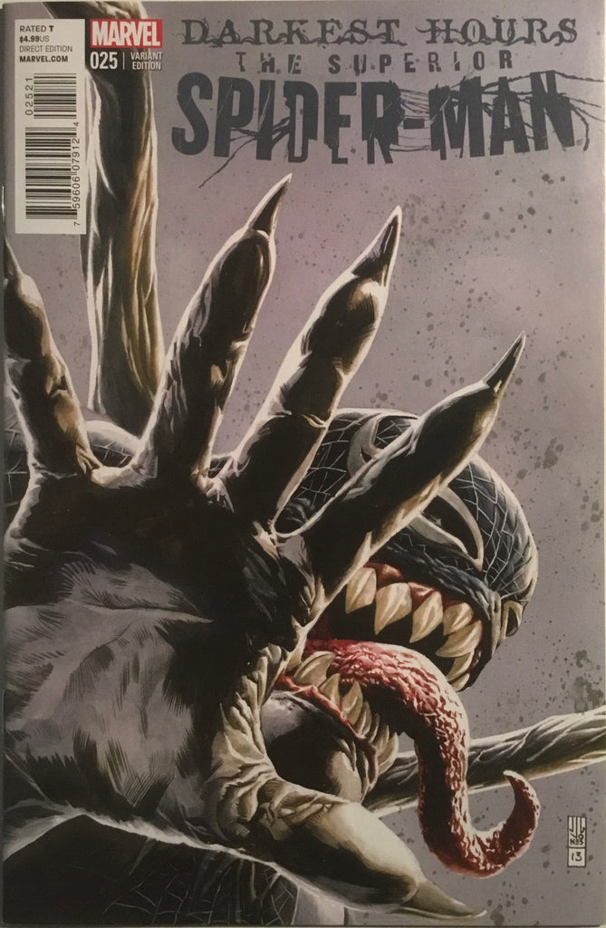 SUPERIOR SPIDER-MAN (2013-2014) #25 JONES 1:50 VARIANT COVER