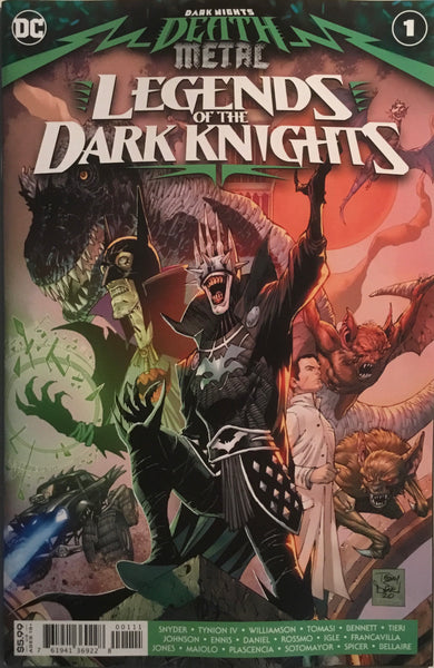 DARK NIGHTS DEATH METAL LEGENDS OF THE DARK KNIGHTS # 1 FIRST PRINTING